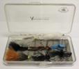 Angler's Lane Bass Attractor Fly / Streamer Collection with Richard Wheatley Box