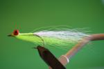 Clouser Deepwater Minnow - Chartreuse & White