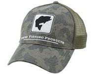Simms Bass Trucker Camo Hat