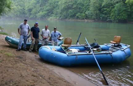 Maravia raft for fishing